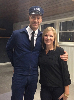 Colin Ferguson and Allison Gillespie